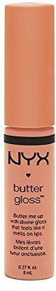 NYX Cosmetics Butter Lip Gloss Fortune Cookie $6.99 thestylecure.com