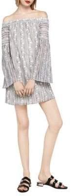 BCBGeneration Off-the-Shoulder Lace Tent Dress