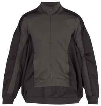 Y/Project Panelled Zipped Jacket - Mens - Grey