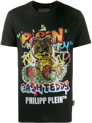 Philipp Plein Teddy Bear embellished T-shirt