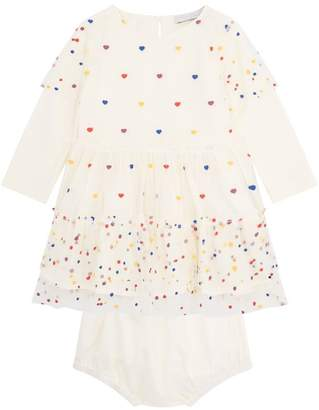 Stella McCartney Karina Scatter Heart Dress