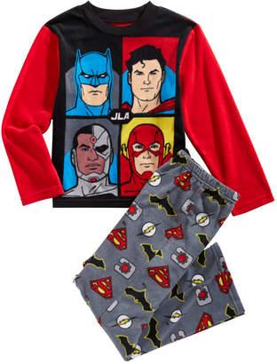 LTB Dc Comics Little & Big Boys 2-Pc. Justice League Fleece Pajama Set