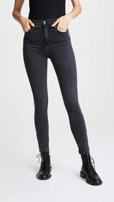 Nobody Denim Siren High Rise Skinny Ankle Jeans