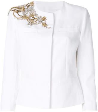Dondup crystal-embellished jacket