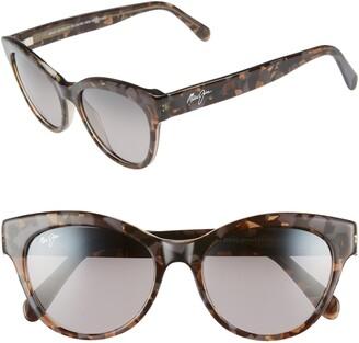 cba663ce4e48 Maui Jim Ku'uipo 51mm Polarized Cat Eye Sunglasses