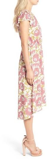 Women's Leith Foral Print Midi Dress 4