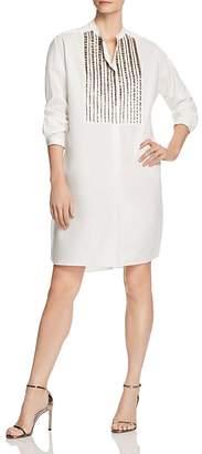Paule Ka Embroidered Tunic Dress