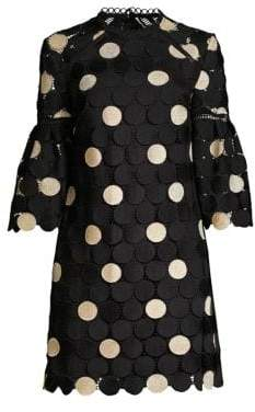 Shoshanna Broome Polka Dot Mini Dress