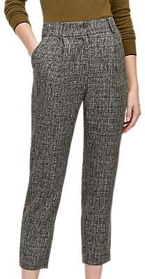 Warehouse Textured Trousers, Dark Grey