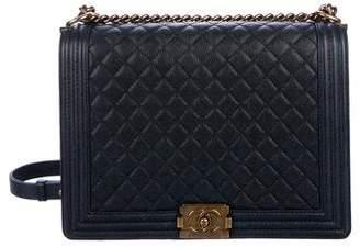 Chanel Large Caviar Boy Bag
