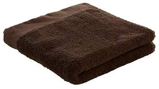 George Home 100% Cotton 2 Pack Hand Towels - Chocolate