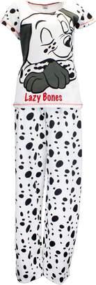 Disney 101 Dalmatians Womens' 101 Dalmatians Pajamas White