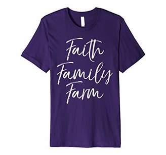 Faith Family Farm Shirt