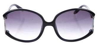 Emilio Pucci Gradient Embellished Sunglasses