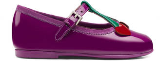 Toddler patent heart ballet flat $310 thestylecure.com
