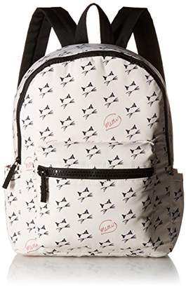 T-Shirt & Jeans Meow Print Back Pack