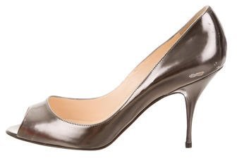 Christian Louboutin  Christian Louboutin Yoyo Metallic Pumps