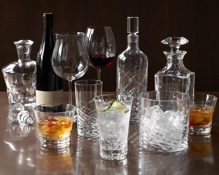 Baccarat Grand Bordeaux Tasting Glasses, Boxed Set of 2