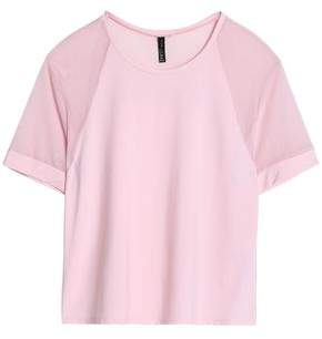 Purity Active Mesh-Paneled Jersey T-Shirt