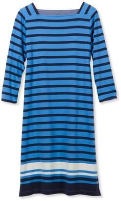 L.L. Bean L.L.Bean Mariner Squareneck Dress, Colorblock