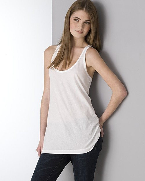 James Perse Relaxed Fit Racerback Tank