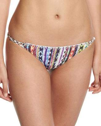 Ale by Alessandra Beach Blanket Wrapped Cord California Swim Bottom, Multi $98 thestylecure.com