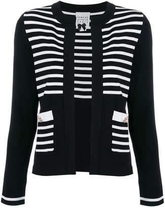 Edward Achour Paris striped cardigan