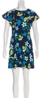 Draper James Floral Print Mini Dress