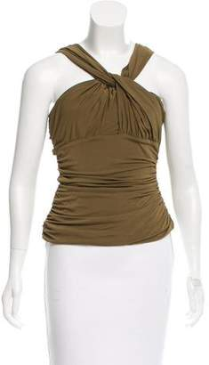 Philosophy di Alberta Ferretti Sleeveless Ruched Top w/ Tags