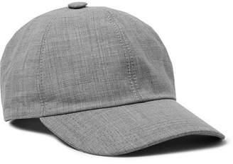 58746babe1c Brunello Cucinelli Wool Baseball Cap - Men - Stone