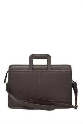 David King & CO Single Leather Gusset Drop Handle Bag