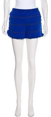 Roseanna Ruffle Trim Striped Shorts w/ Tags