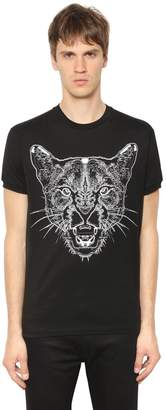 Marcelo Burlon County of Milan Puma Printed Cotton Jersey T-Shirt