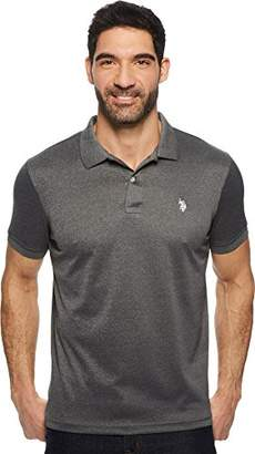 U.S. Polo Assn. Men's Classic Fit Solid Short Sleeve Stretch Poly Polo Shirt