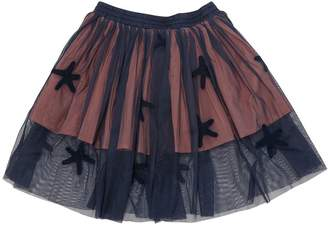 Stella McCartney Starfish Patches Stretch Tulle Skirt