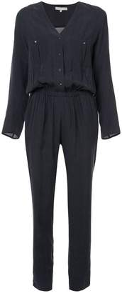Vanessa Bruno longsleeved buttoned jumpsuit