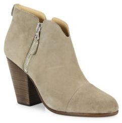 Rag & Bone Margot Suede Ankle Boots $495 thestylecure.com