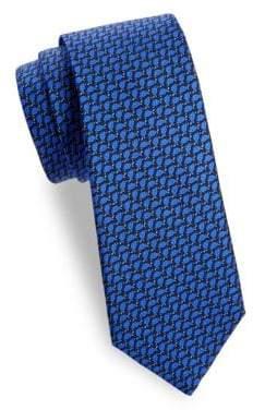 Saks Fifth Avenue Turtle Shell Silk Tie