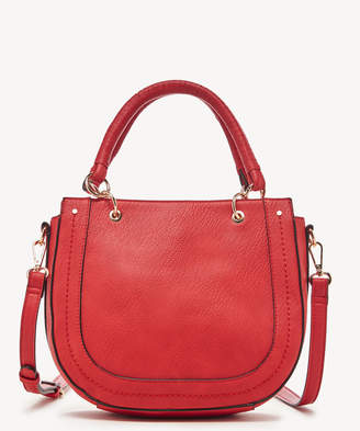Sole Society Women's Rubie Satchel Vegan Leather In Color: Poppy Bag From