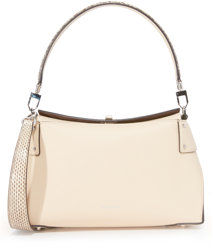 MICHAEL Michael KorsMichael Kors Collection Miranda Top Lock Shoulder Bag