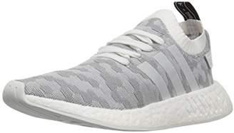 adidas Women's NMD_R2 PK W Sneaker White/Shock Pink