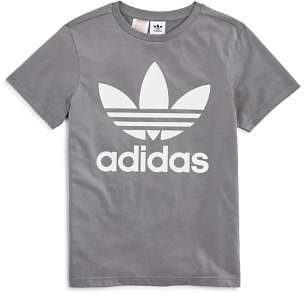 adidas Unisex Logo Graphic Tee - Big Kid