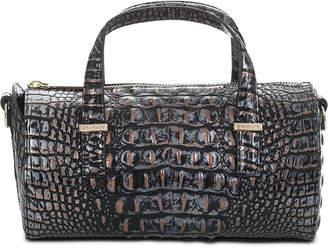 Brahmin Claire Melbourne Embossed Leather Barrel Bag