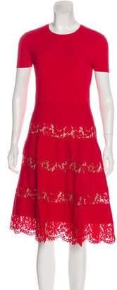 Valentino A-Line Knee-Length Dress w/ Tags