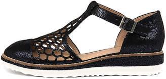Django & Juliette Nesenti Navy Shoes Womens Shoes Casual Flat Shoes