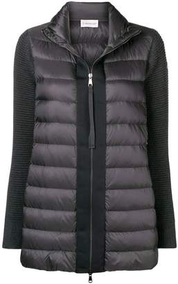 Moncler padded cardigan coat