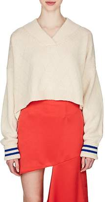 Maison Margiela Women's Wool Crop Sweater