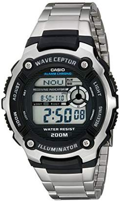 Casio Men's WV200DA-1A Multi-Task Gear Waveceptor Sports Watch