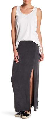 NYTT Side Slit Maxi Skirt