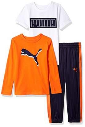 Puma Little Boys' Tricot Pant Set,4